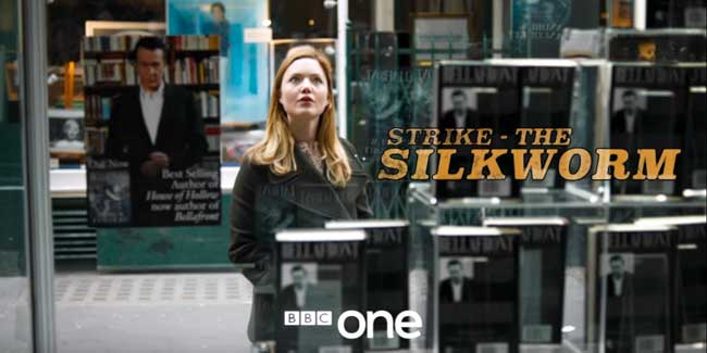 Oct, 2017 - 'Strike: The Silkworm' airs on BBC 1, featuring Caitlin as lawyer 'Ilsa Herbert'. Click here to read The Guardian review.