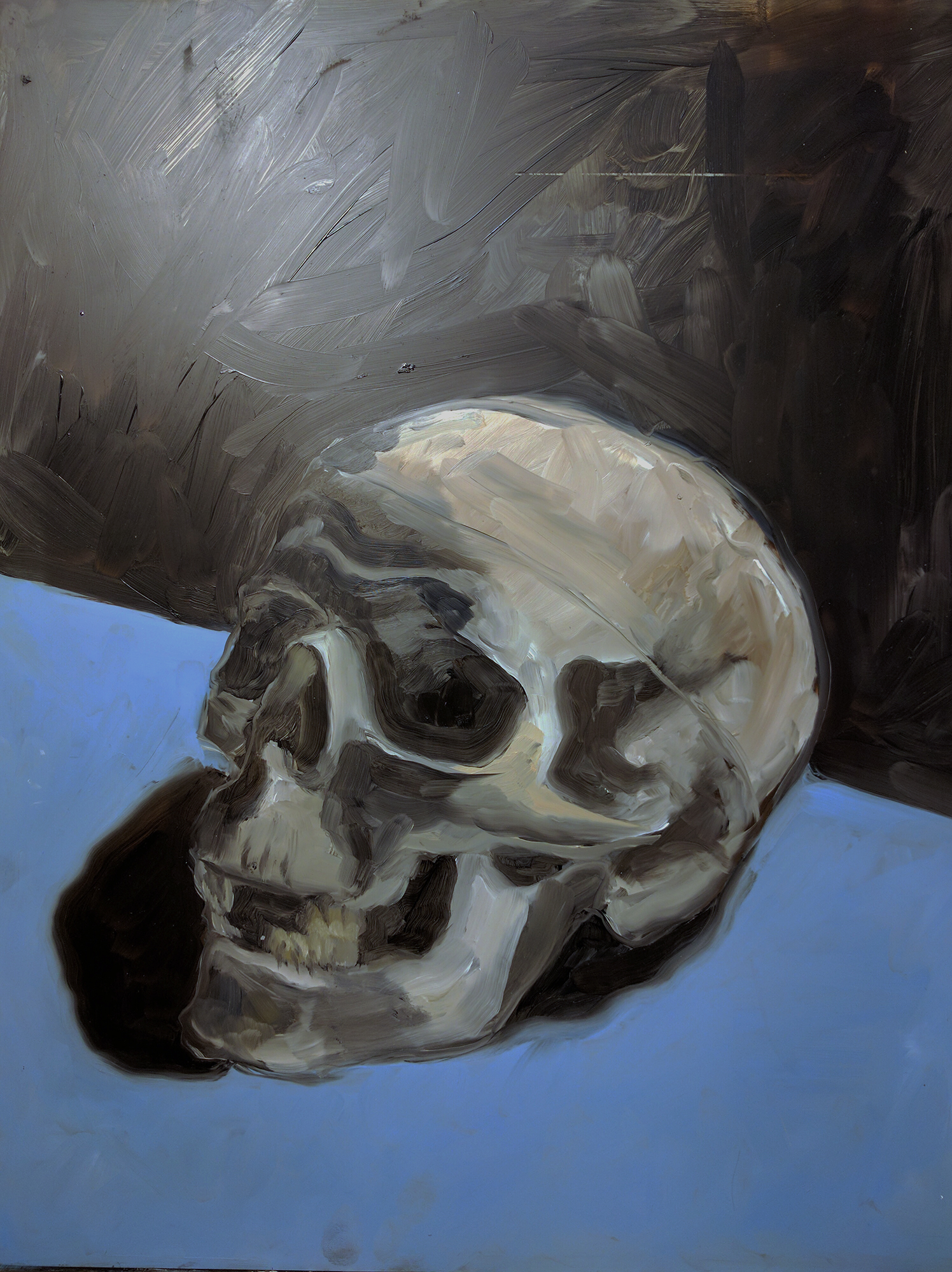 Skull, After Van Gogh (SOLD)