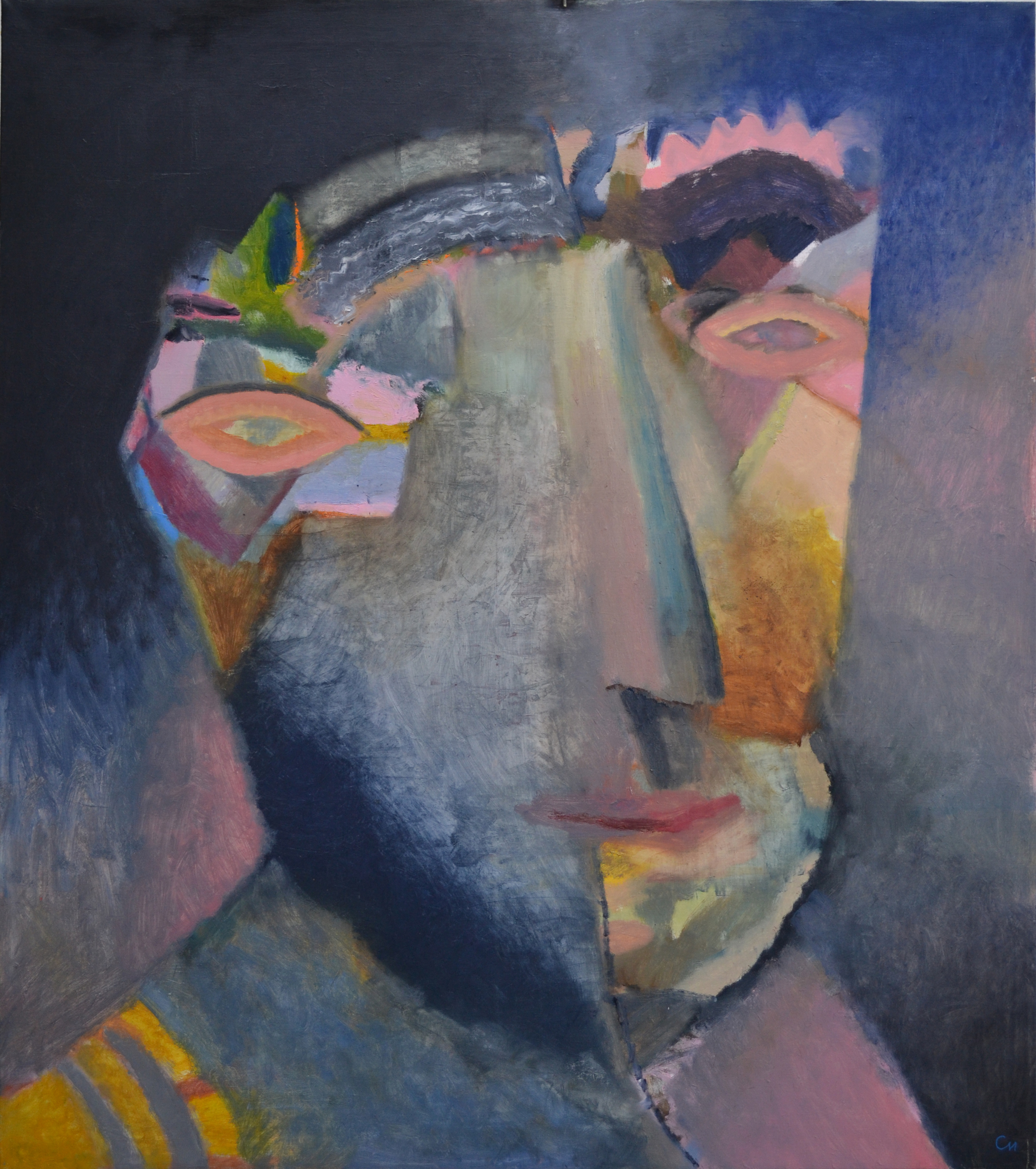 Character 3, 2013, Oil on Canvas, 51 x 43 in (130 х 110 cm)