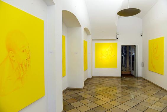 Yellow Heaven, 2015, Installation view, Vienna, Austria