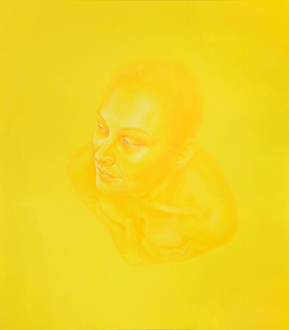 Saint Agatha, 2014, Acrylic on canvas, 63 x 55 in (160 x 140 cm)