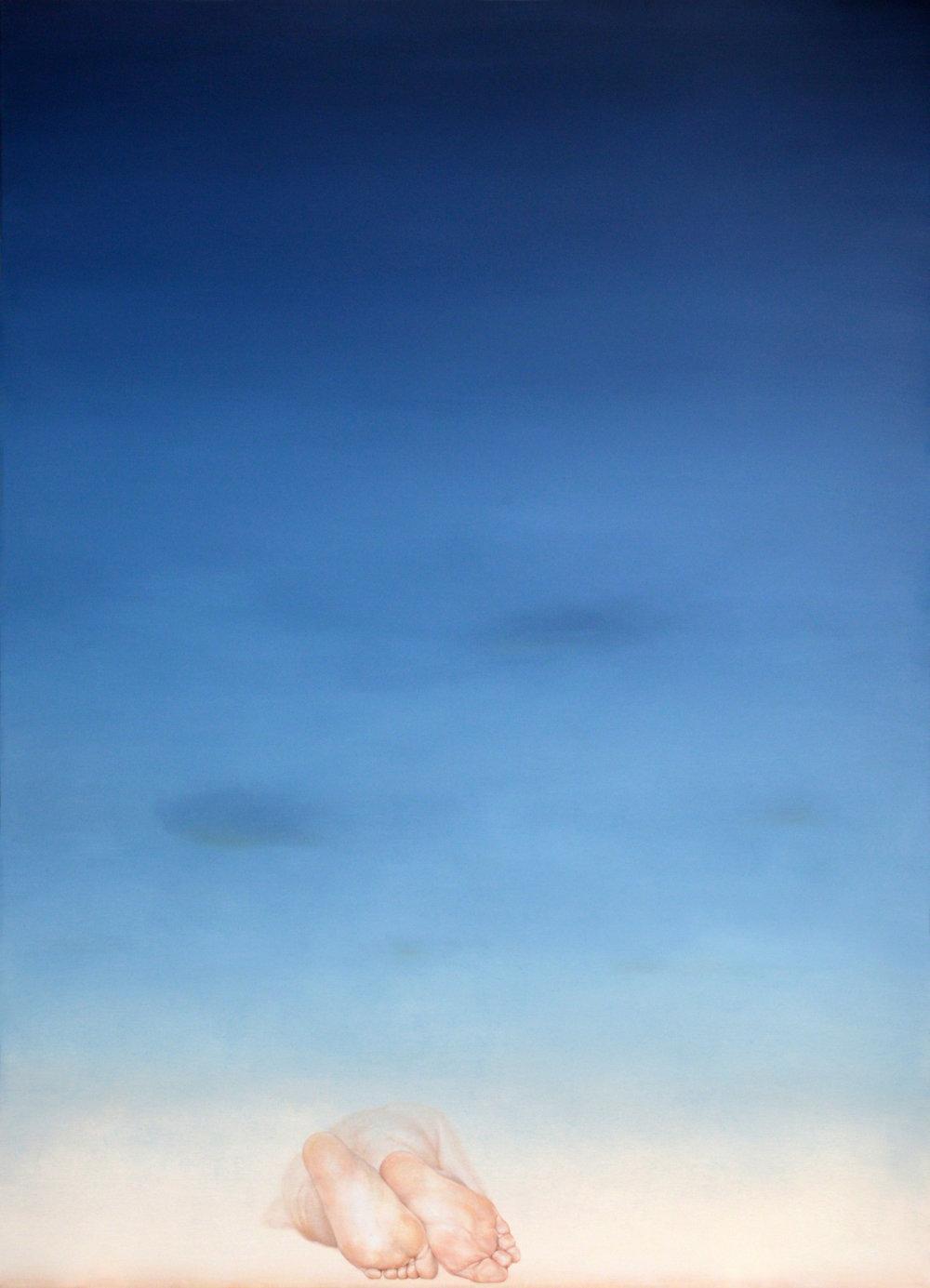 Dorota Sadovska, Krivan, 2016, Oil on Canvas, 71 x 51 in (180 x 130 cm)