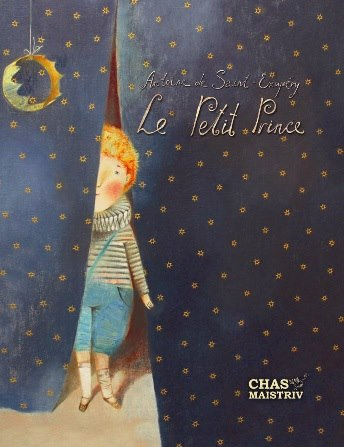 Little Prince. Anna Silivonchik. Cover. French edition. 2014