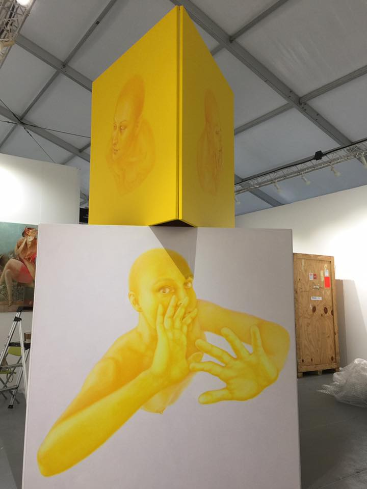 Dorota Sadovska, Yellow Heaven installation
