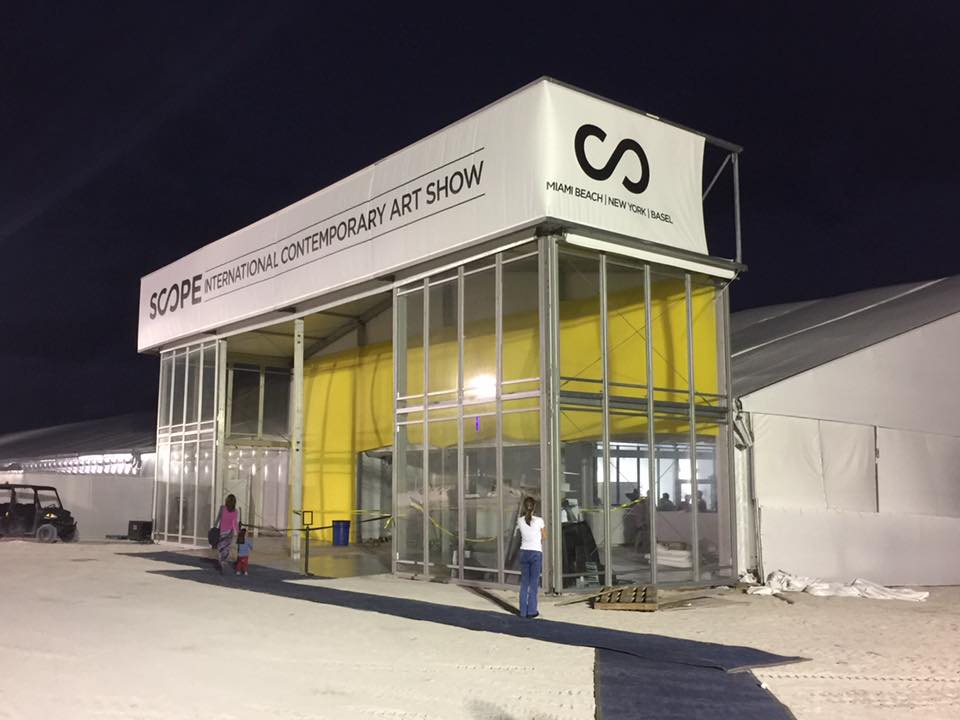 Scope Miami Beach 2016 pavilion