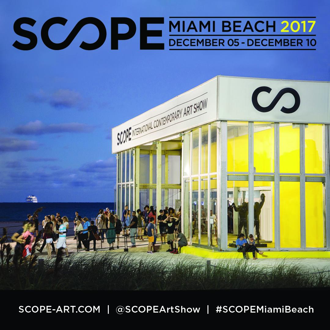 - THINK+ feel Contemporary is exhibiting at Scope Miami Beachin gallery E 03, December 5-10 , 2017 at 801 Ocean Drive, Miami Beach. This year our gallery is presenting works by Jan Kalab, Matus Lanyi, Martin Moflar, MUSA, Martin Stranka, and Maria Svarbova.