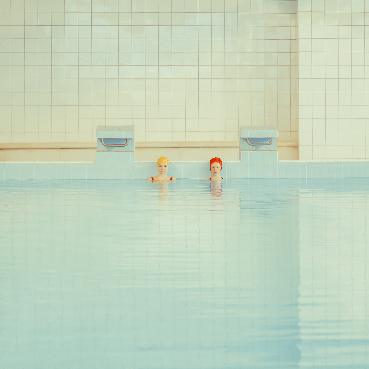 Swimmers, Archival Pigment Print
