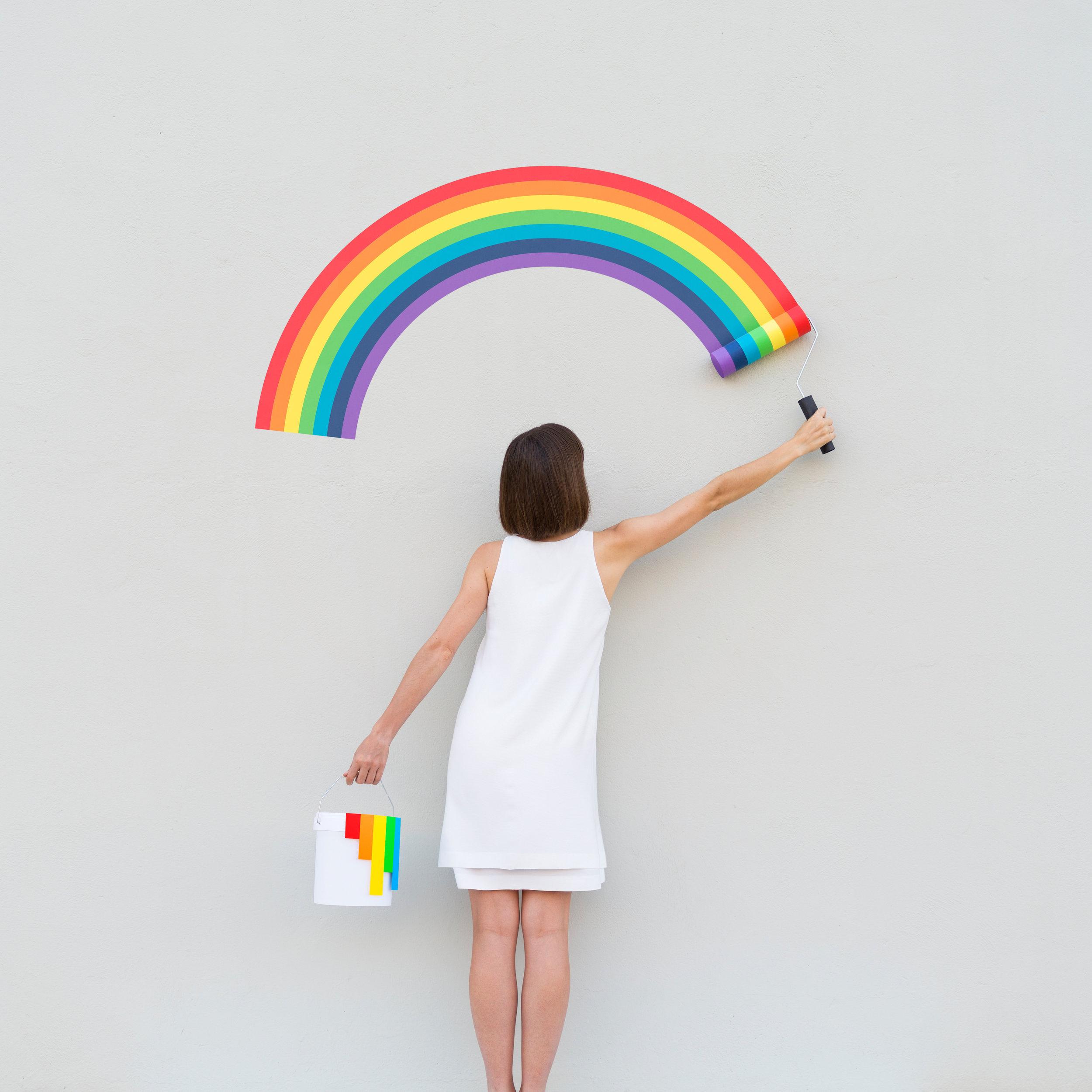 Pride and Pridejudice , 2018 ,Archival Pigment Print, 110 × 110 cm (43 3/10 × 43 3/10 in)