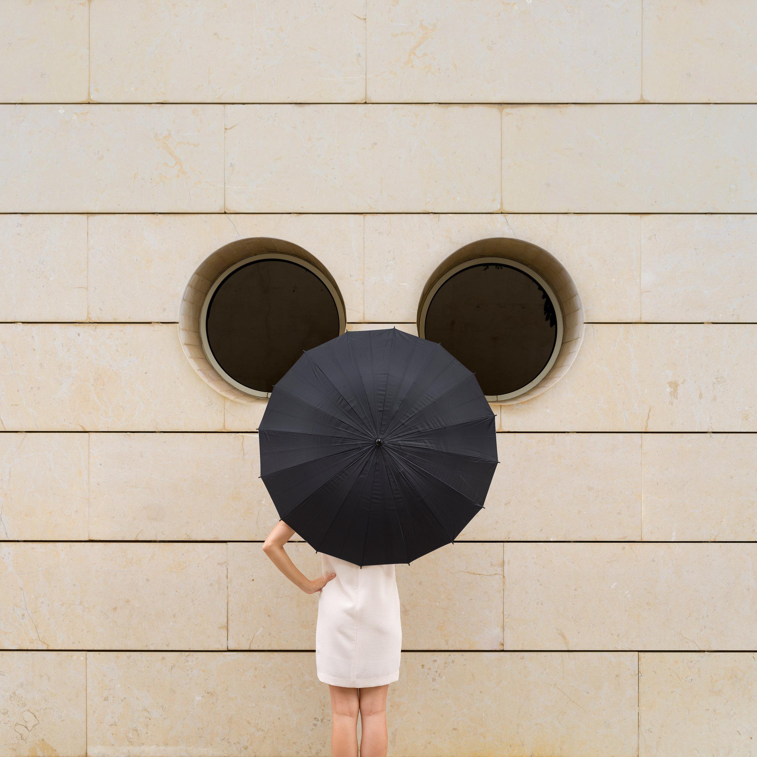 Wall Disney, 2018, Archival Pigment Print, 110 × 110 cm (43 3/10 × 43 3/10 in)