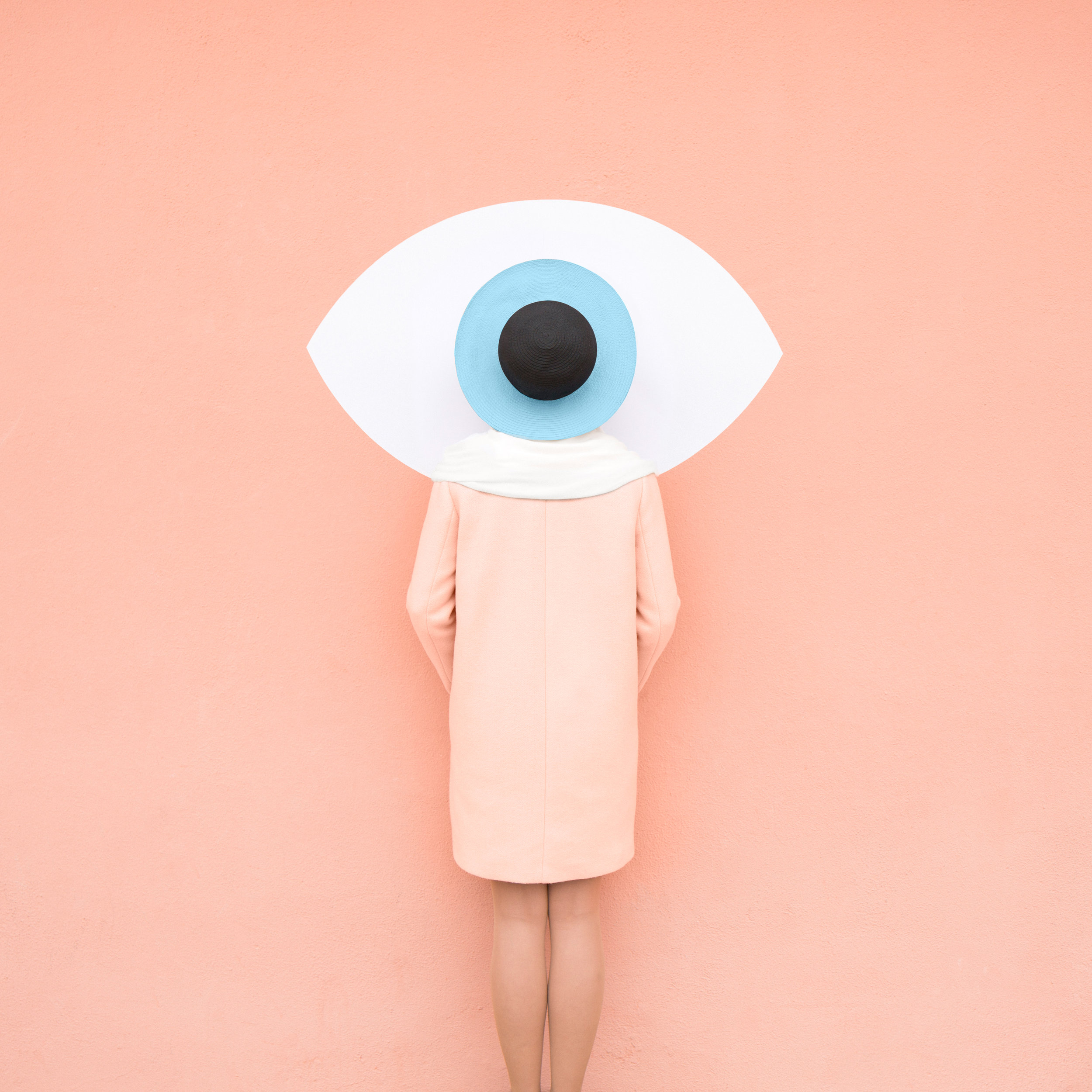 Eye See You, 2018, Archival Pigment Print, 110 × 110 cm (43 3/10 × 43 3/10 in