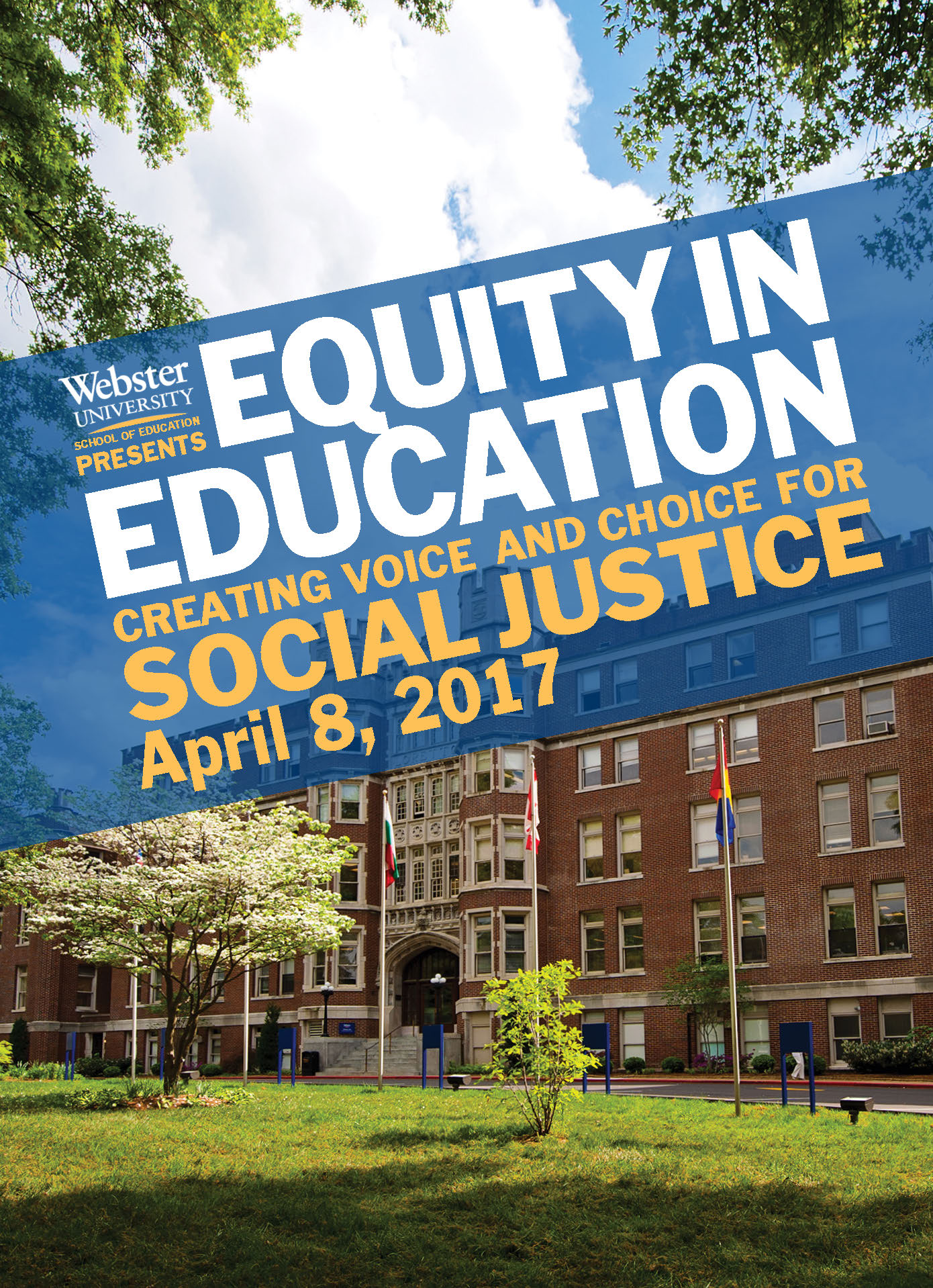 School of Education Conference Flyer Concept