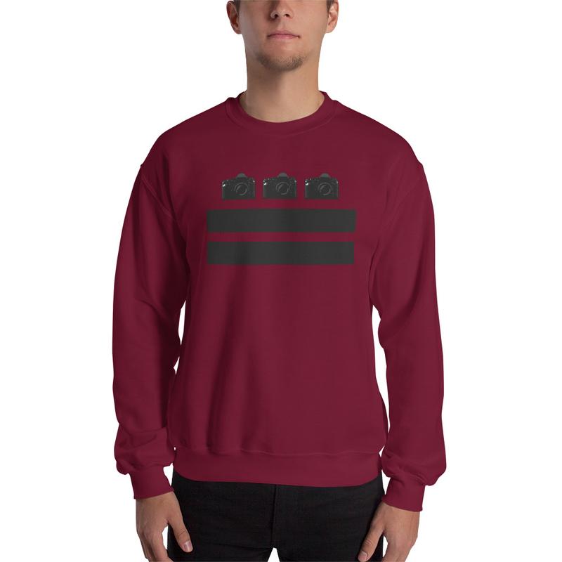 DC Cameras Sweatshirt Mockup