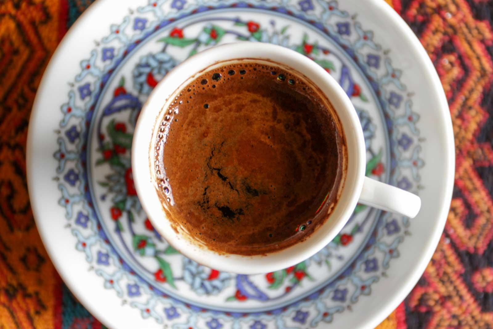 Turkish Coffee — Istanbul, Turkey.