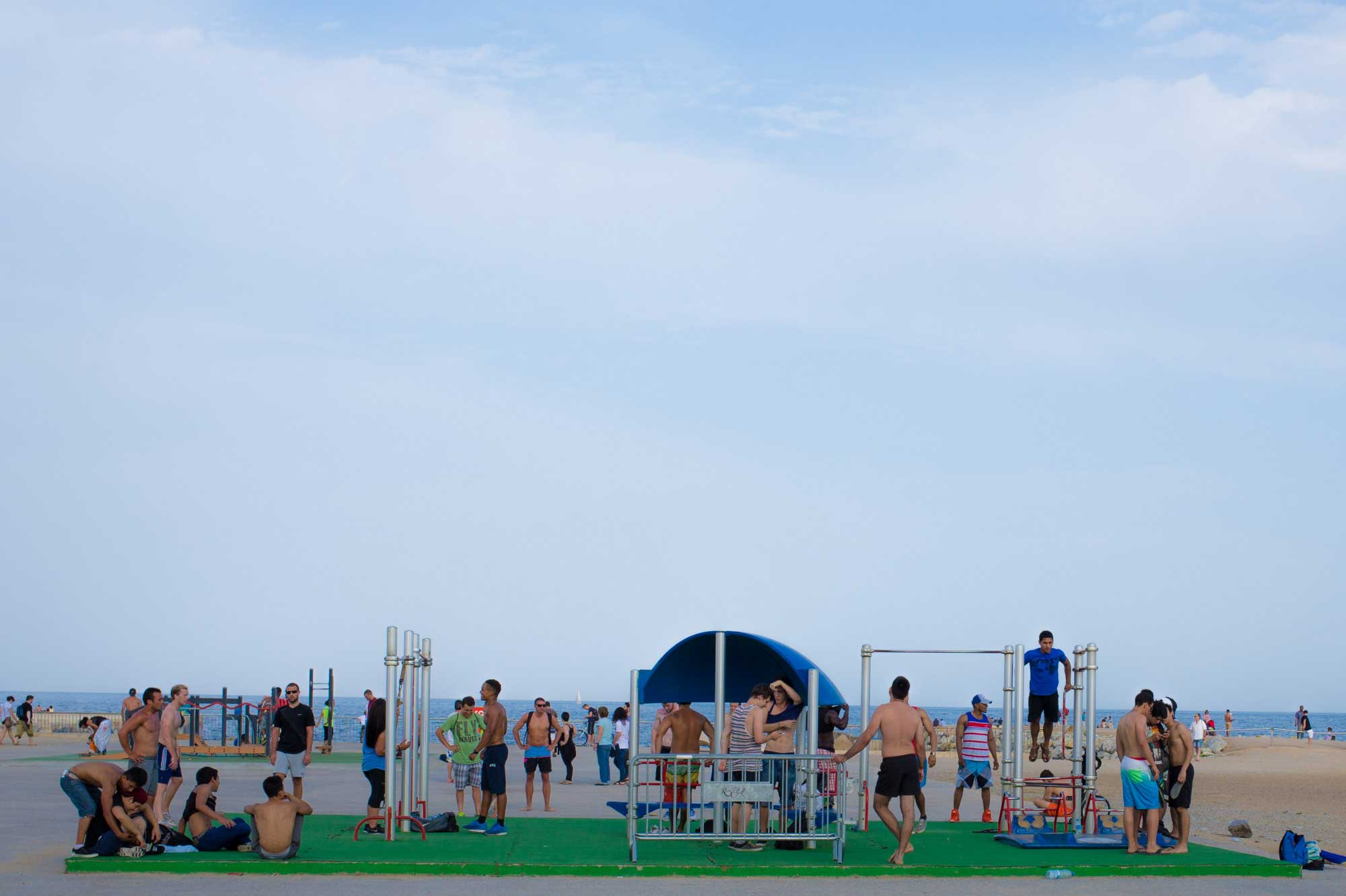 2014 — Barceloneta Muscle Beach