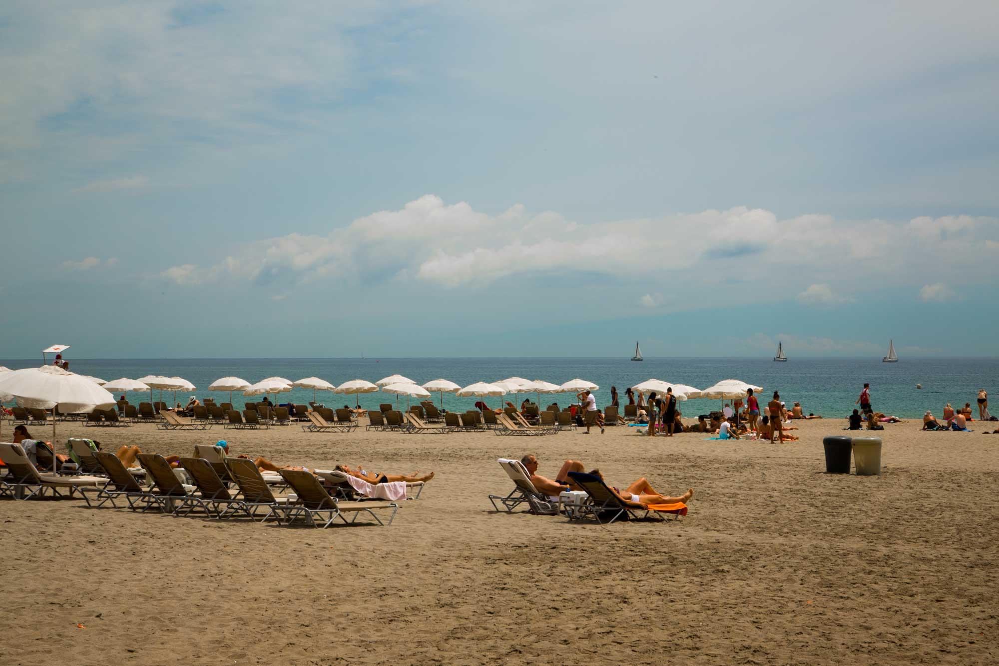 2014 — Barceloneta Beach in July