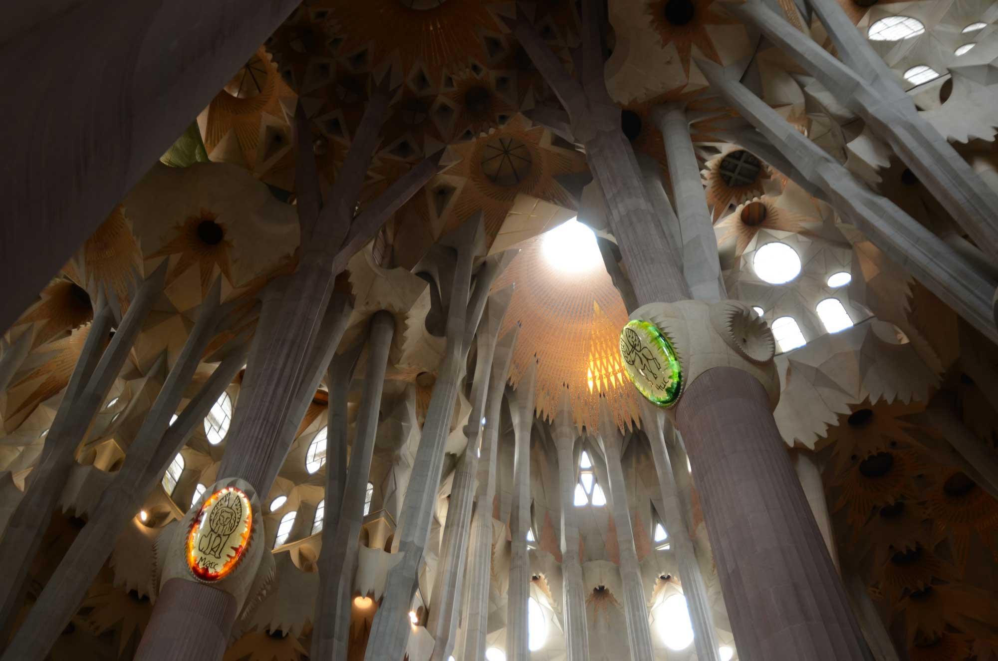 2012 — Inside the Sagrada Familia