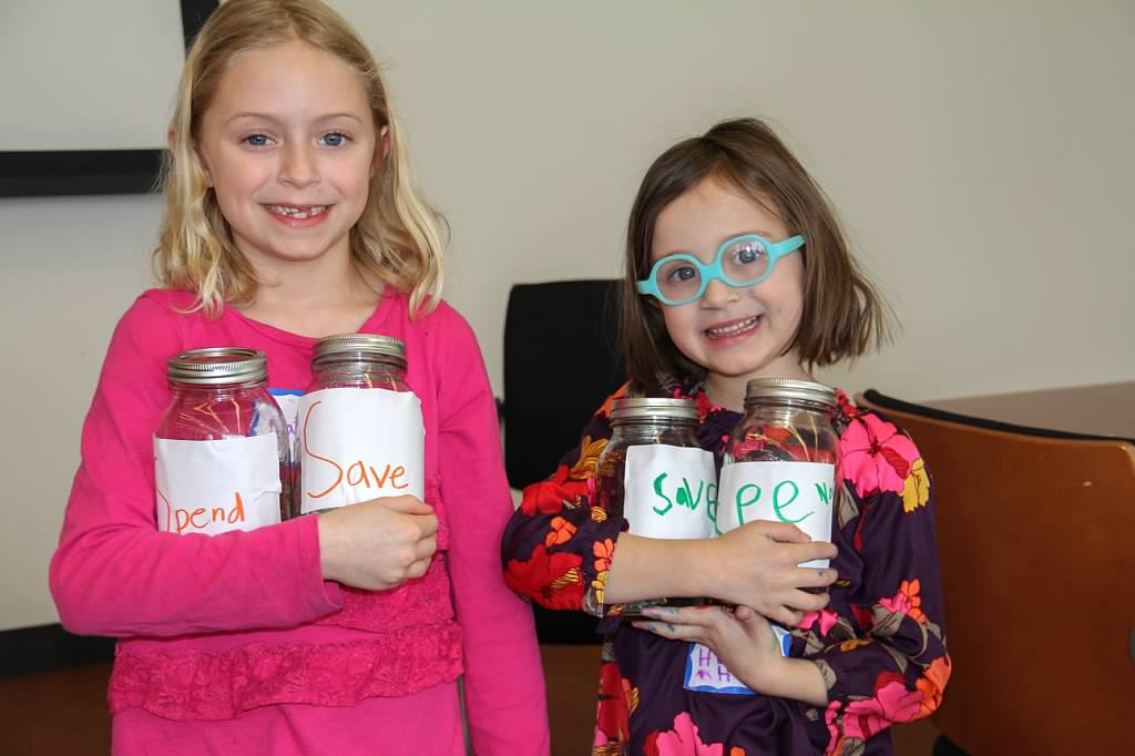 Two girls participating in our  Make It Count!  program
