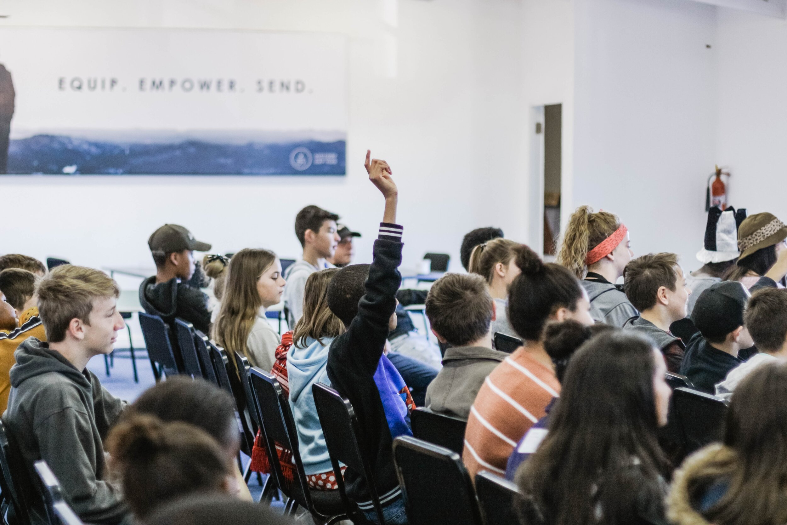 Speaking Events - Connects audiences to our mission of promoting womens' and girls' issues in the areas of STEM, Entrepreneurship, Changemaking, and Body Image.