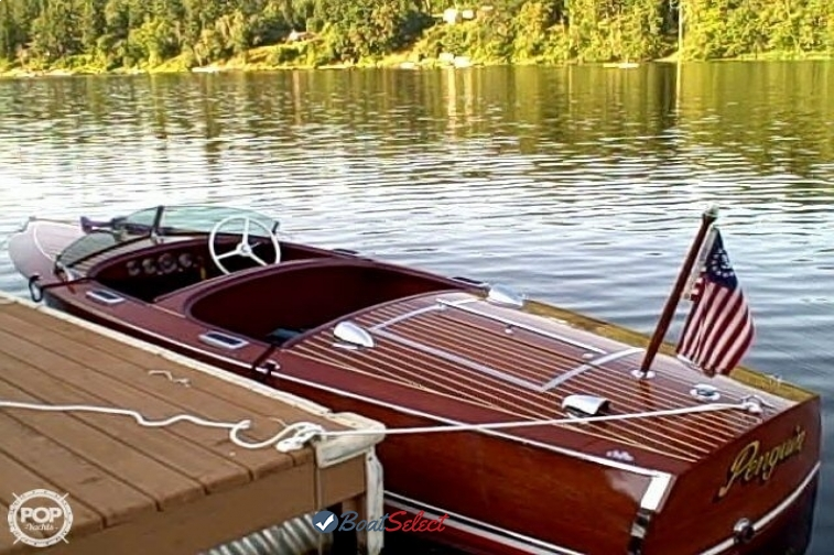 The finished Chris-Craft 101 Deluxe is available for commission or purchase.