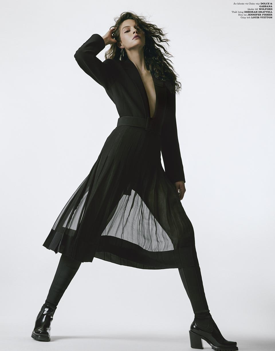 Kristine Souza KATE BOGUCHARSKAIA  Kinya Dolce and Gabbana