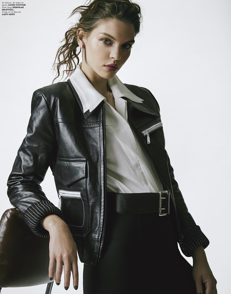 Kristine Souza Stylist KATE BOGUCHARSKAIA  Kinya  Louis Vuitton