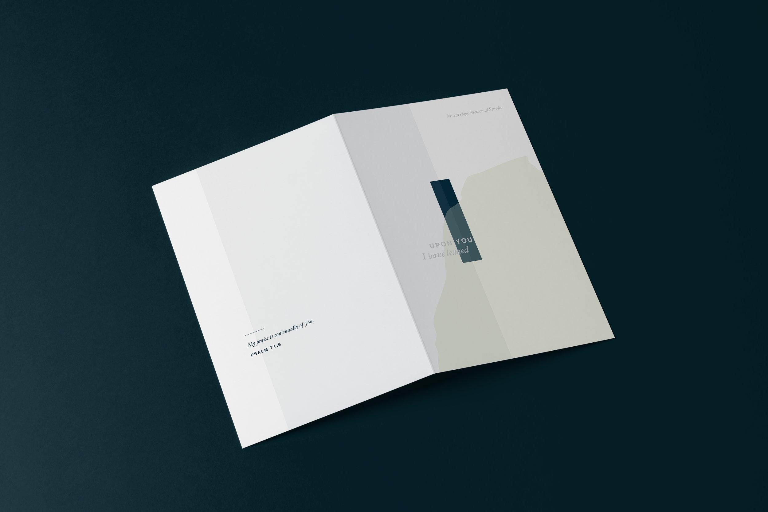Miscarriage Memorial Booklet Mockup teal.jpg