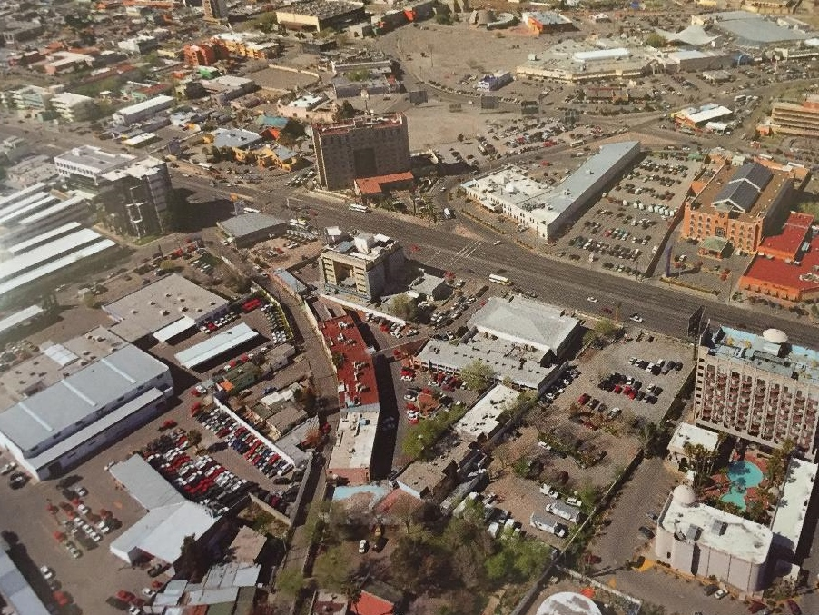 Aerial shot of Cuidad Juárez.  Photo thanks to FECHAC