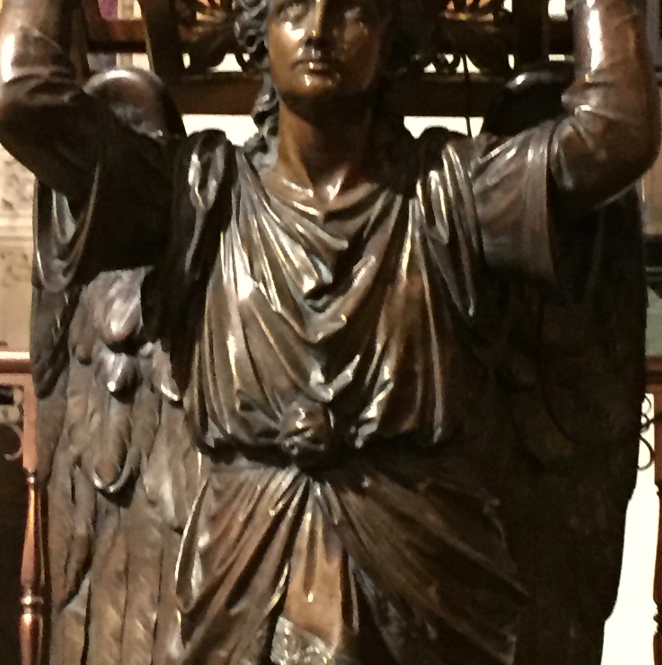 Keep me as the apple of your eye; hide me in the shadow of your wings- Psalm 17:8 BCP Compline   above- Angel lectern, Christ Church Rochester,NY