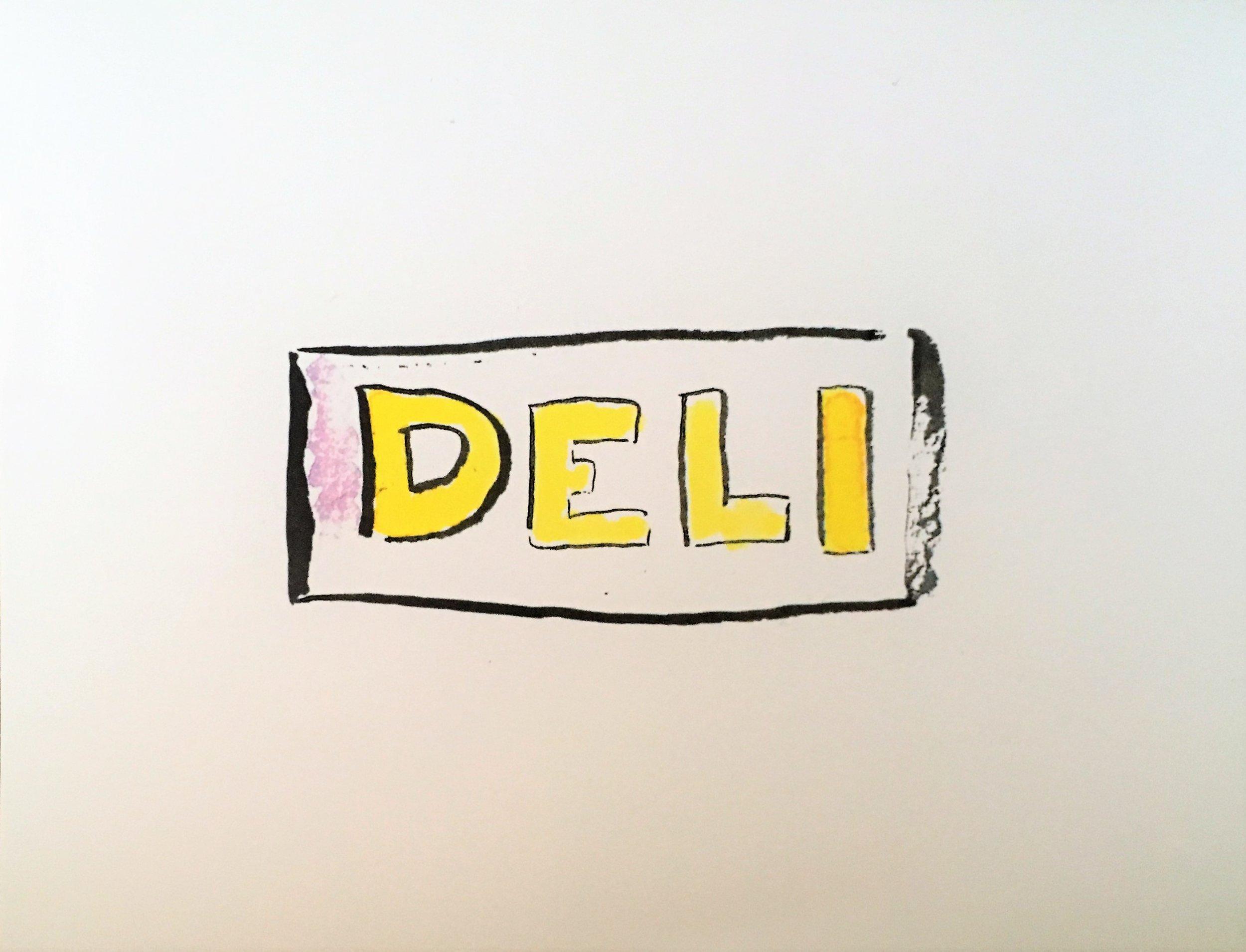 Deli, inside image