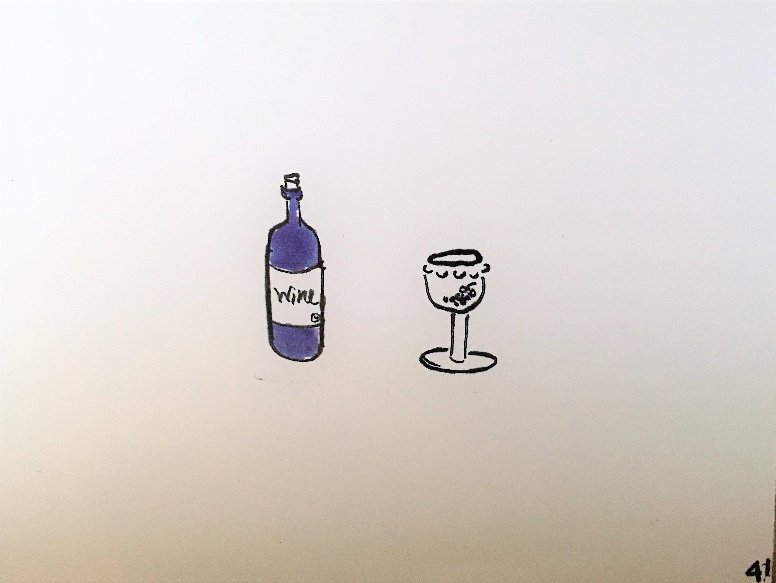 Wine, closing image