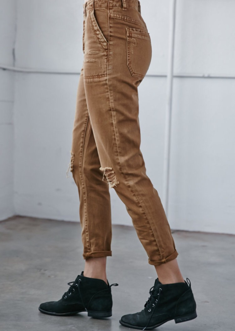 Ripped Utility Skinny Bf Jeans  $19.99   online only