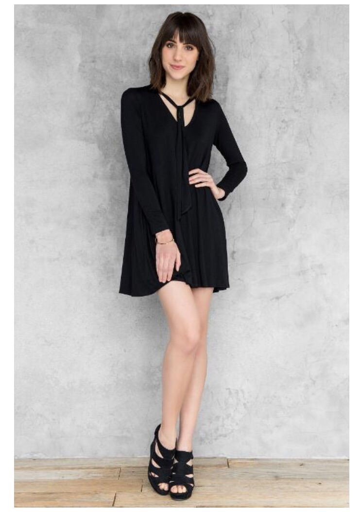 Found Online at Francesca's  Marlow Solid Shift Dress   $38