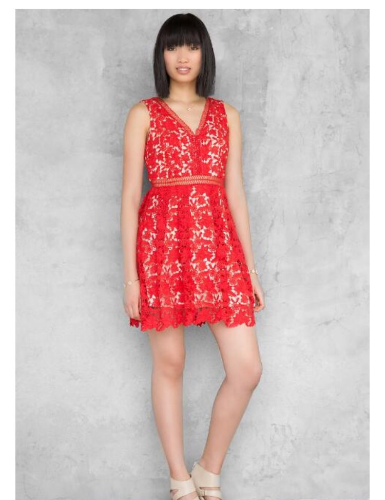 Poppy Lace Cut Out  $48