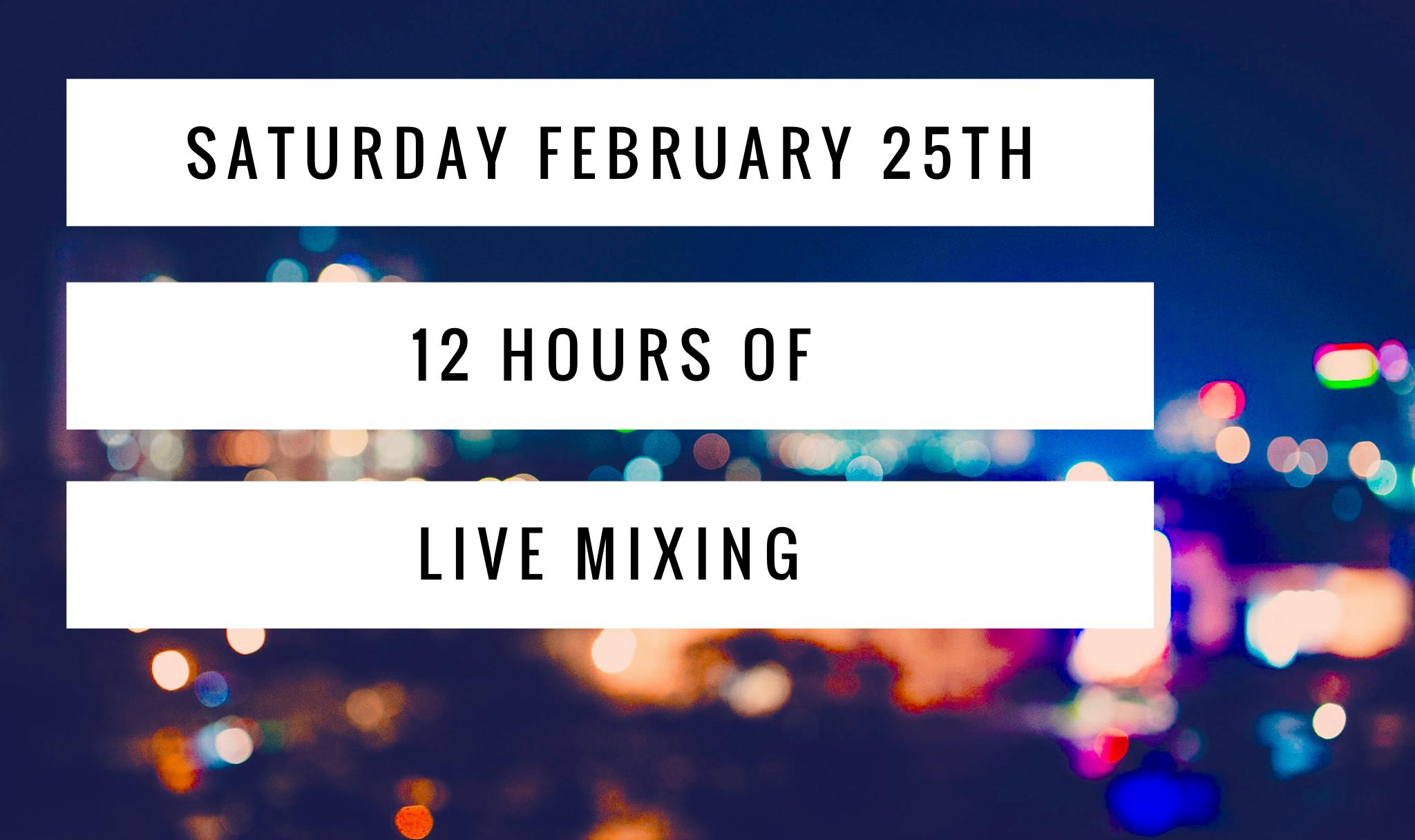 Latino live mix weekend!