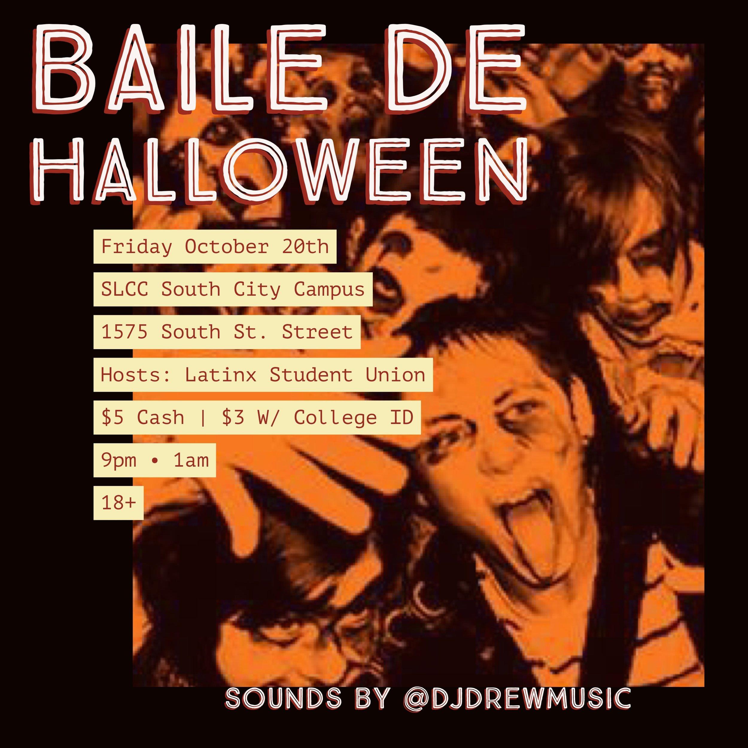 SLCC Halloween Dance 2017