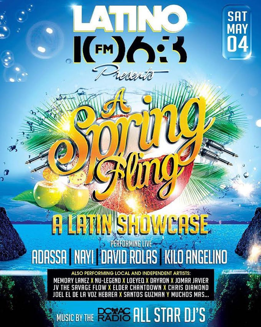 Spring Fling Latin Showcase presented by Latino 106.3 FM