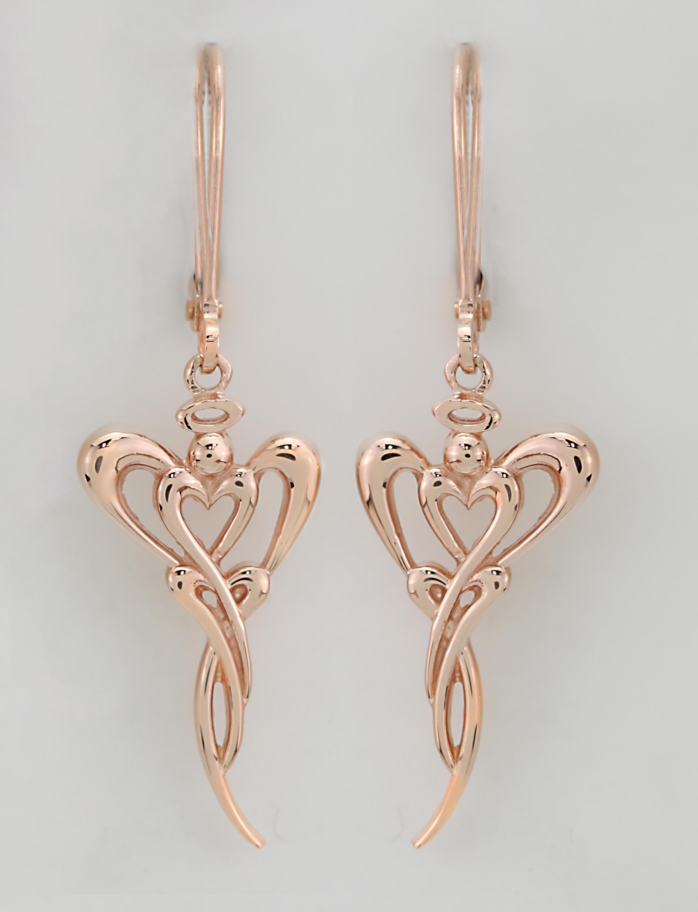 14kt Rose Gold Earrings