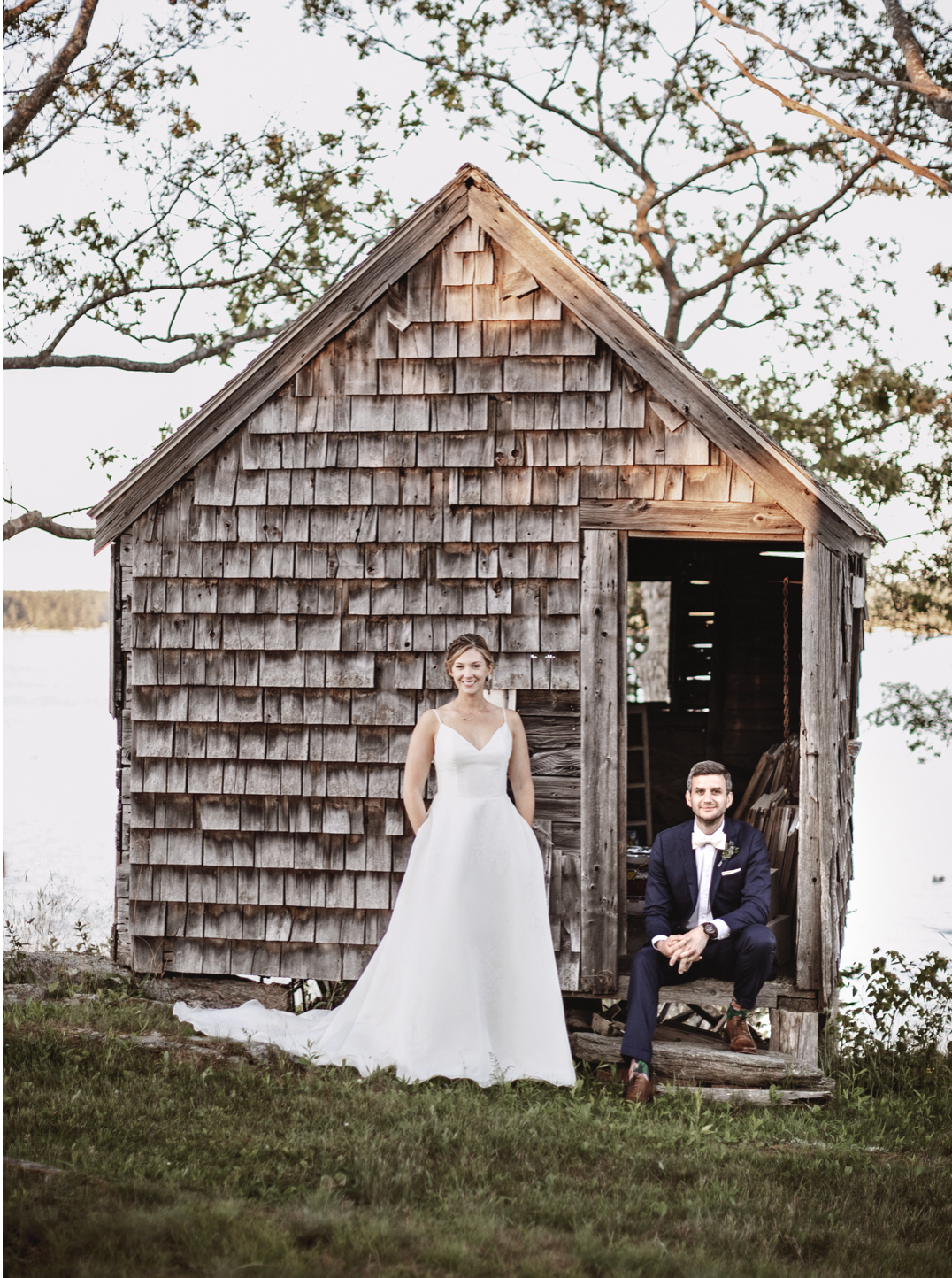 Emily and Jason, Harpswell, Maine.