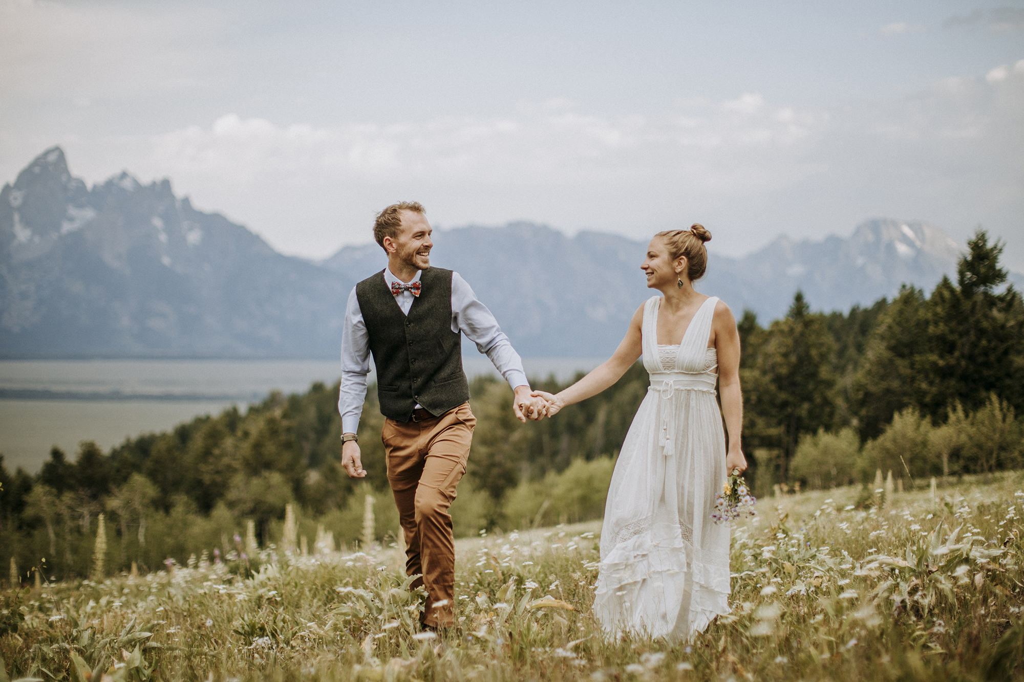 Liz and Collin, Jackson Hole, Wyoming