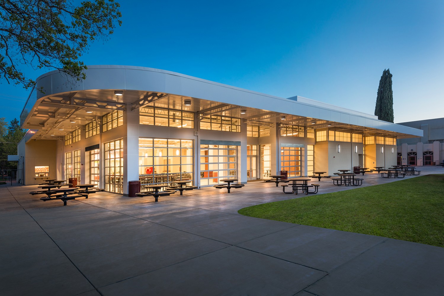 Chico High School's Lincoln Center Dining Hall