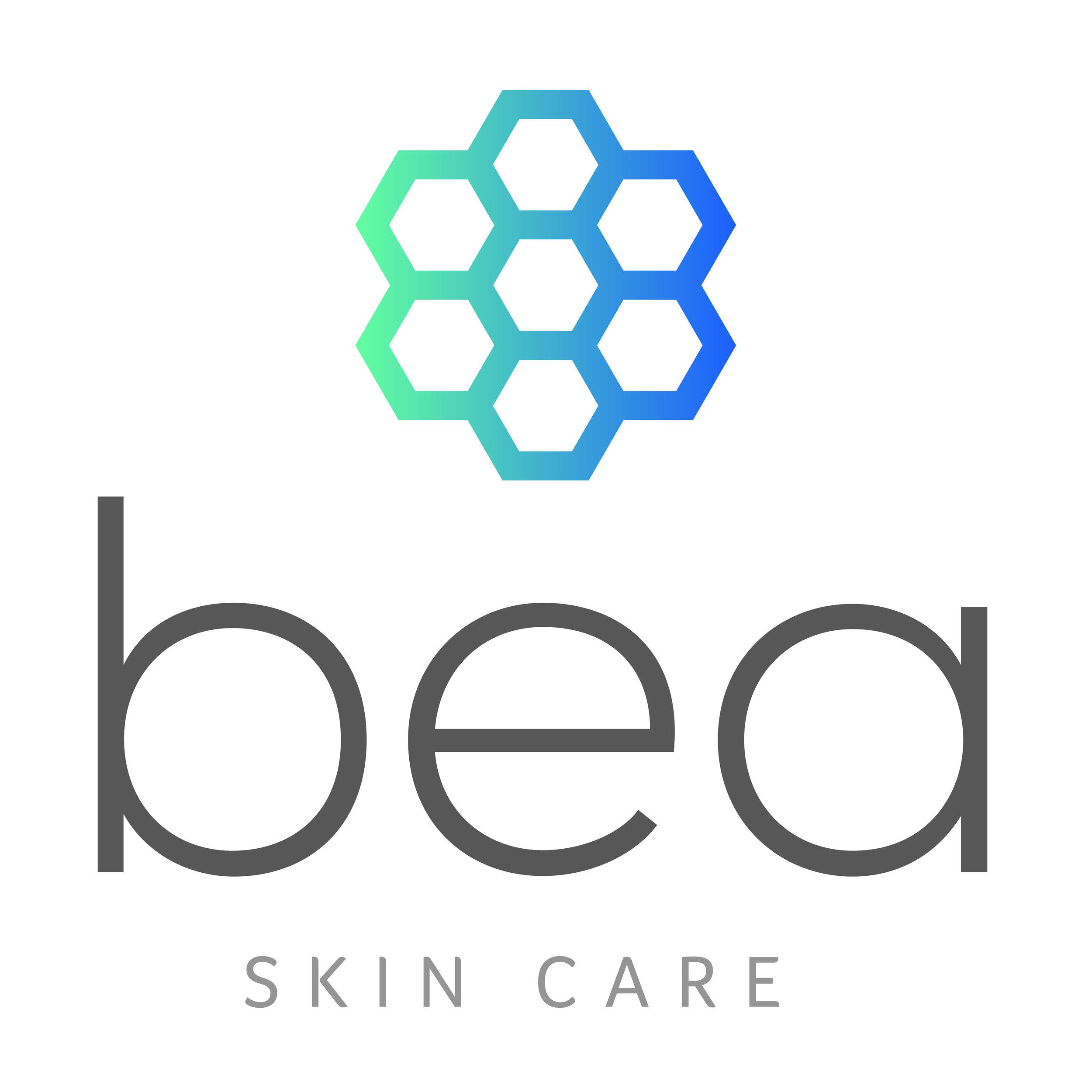 BEA Skin Care Logo large white.jpg