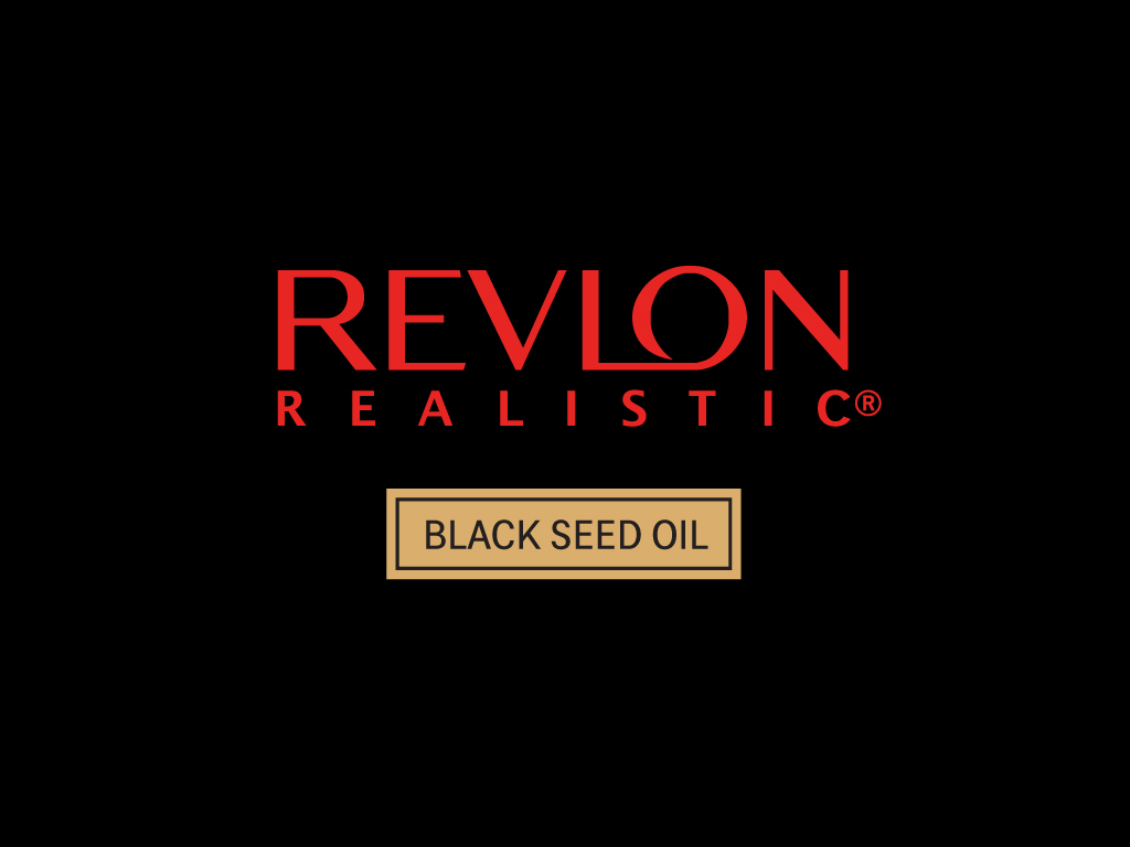 - Revlon Realistic and Black Seed Oil is the new go-to range for naturalistas who love to experiment with their coils, kinks and curls. Whether you're box braiding today or twisting out tomorrow, with the Revlon Realistic and Black Seed Oil that's designed to strengthen and grow longer and stronger hair every day, your natural hair, style and confidence will never be compromised! Connect with us on social @revlonrealistic.