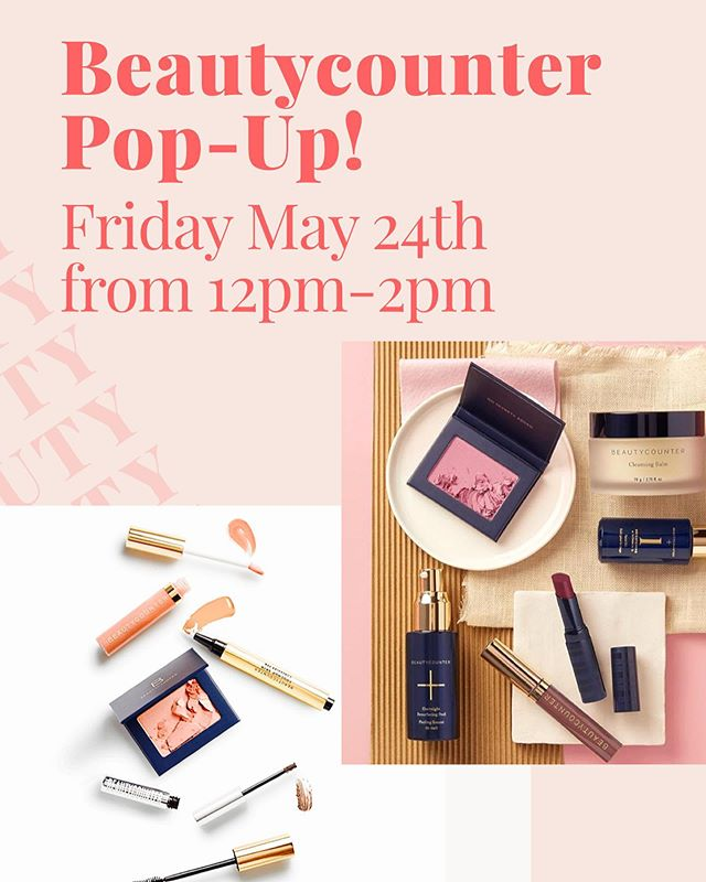 🌿BEAUTYCOUNTER POP-UP! —— Friday May 24th from 12pm-2pm —— If you've been wanting to try Beautycounter, this the perfect opportunity! —— I'll be giving mini makeovers, you can sample products, ask questions and even place an order! —— Pop-up will be held at Pearl 3425 Bee Cave Rd Suite A1 78746 Hope you see you there!! —— This is also a wonderful chance to place an order as Beautycounter has an AMAZING limited time Memorial Day offer going on right now! —— Get a FREE SUMMER SUN SET ($35 value) when you spend $125+ —— You can take advantage of this amazing offer by ordering online, even if you can't come to the pop-up! —— Link in bio to shop with me! 🌿 —— . . . . . #austinmakeupartist #austinweddingmakeupartist  #austinmakeup  #makeupaustin  #makeupatx  #makeupartist  #austinwoman  #makeover #austinmoms #austinsalon #austinhair #austin360 #austinbeauty #austininfluencer #skincare #cleanskincare #cleanbeauty #betterbeauty #beautycounter