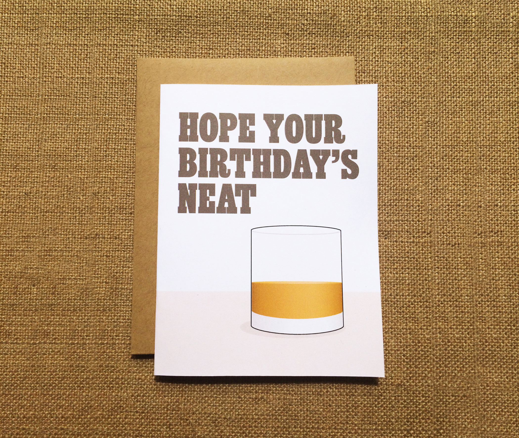 Birthday Greeting Card - Paper Route Studio