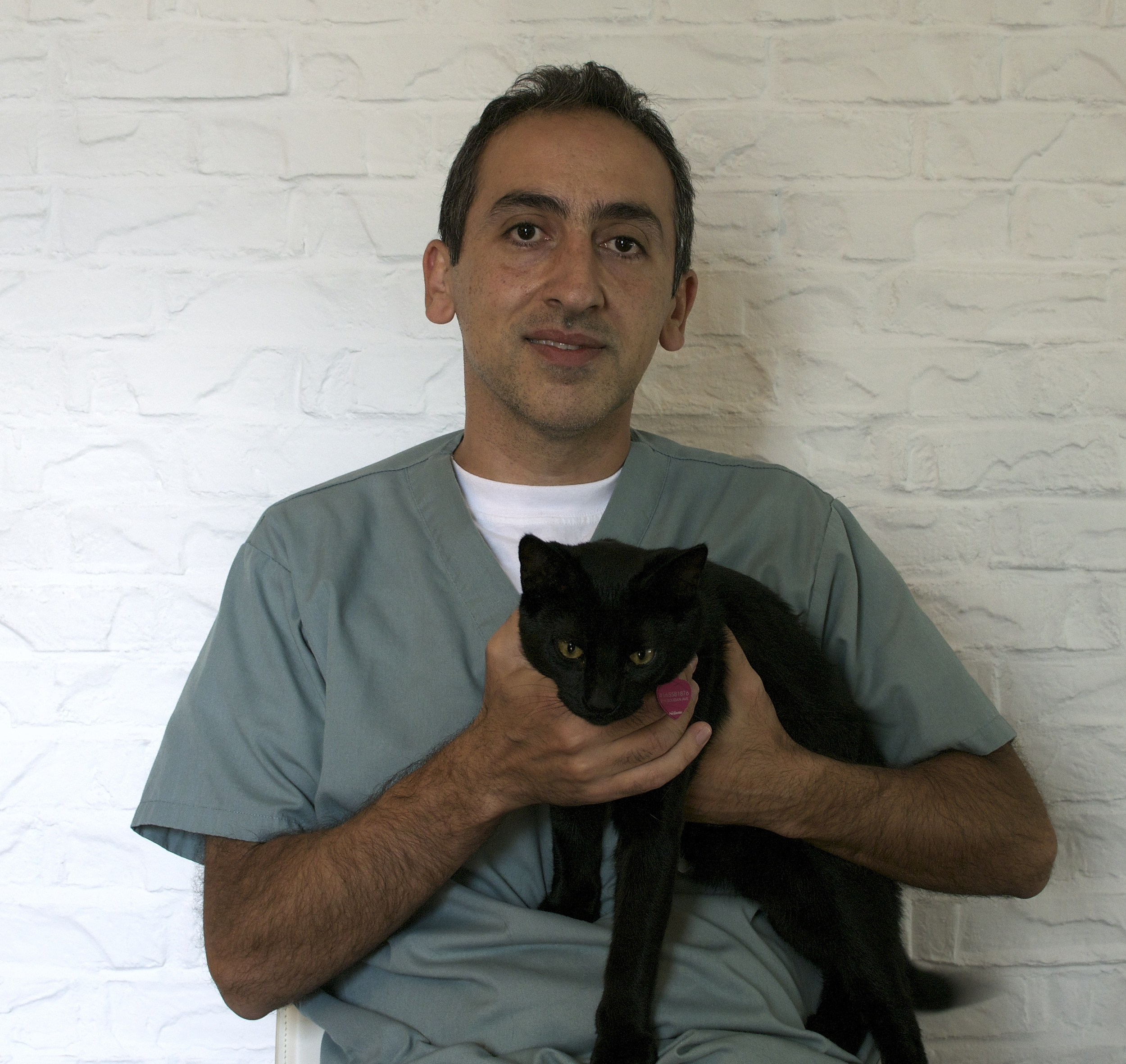 Dr. Shervin Irannejad at St Clair East Animal Hospital