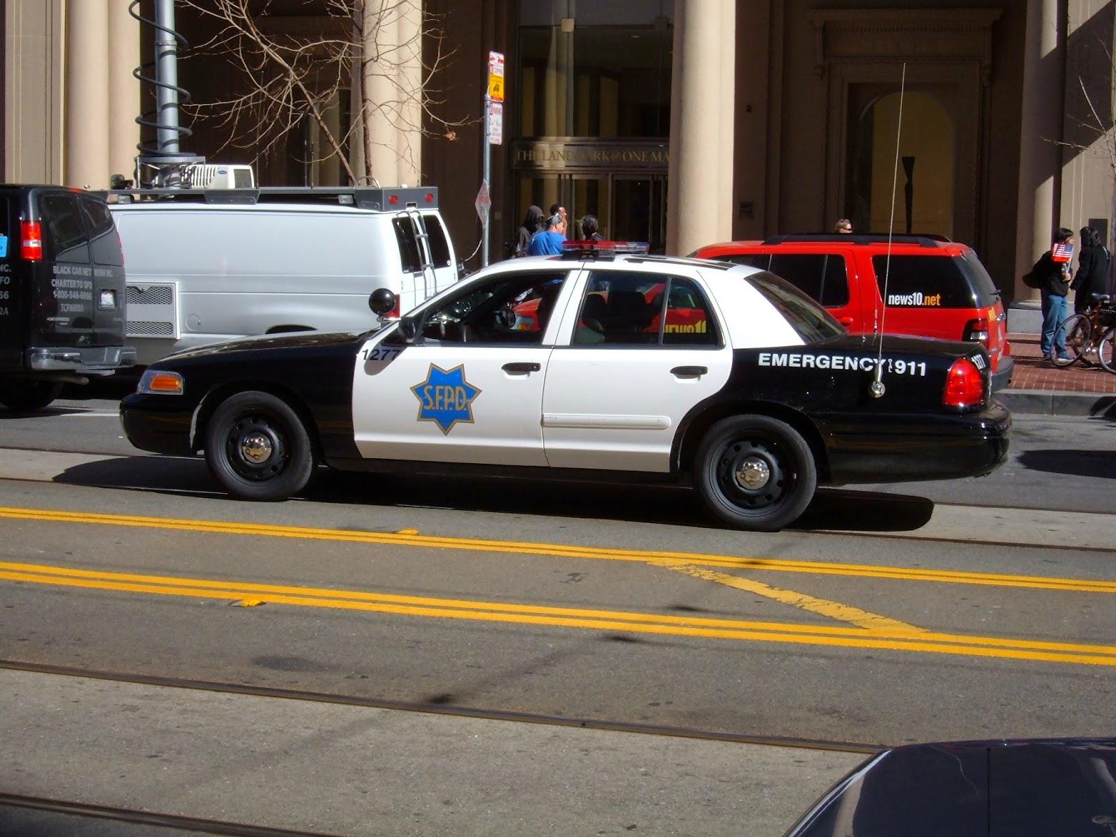 Random SFPD car
