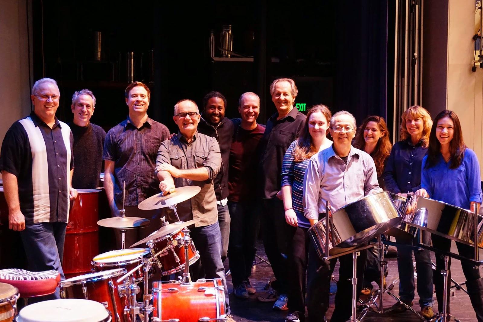 The San Francisco Panhandlers Steel Drum Band