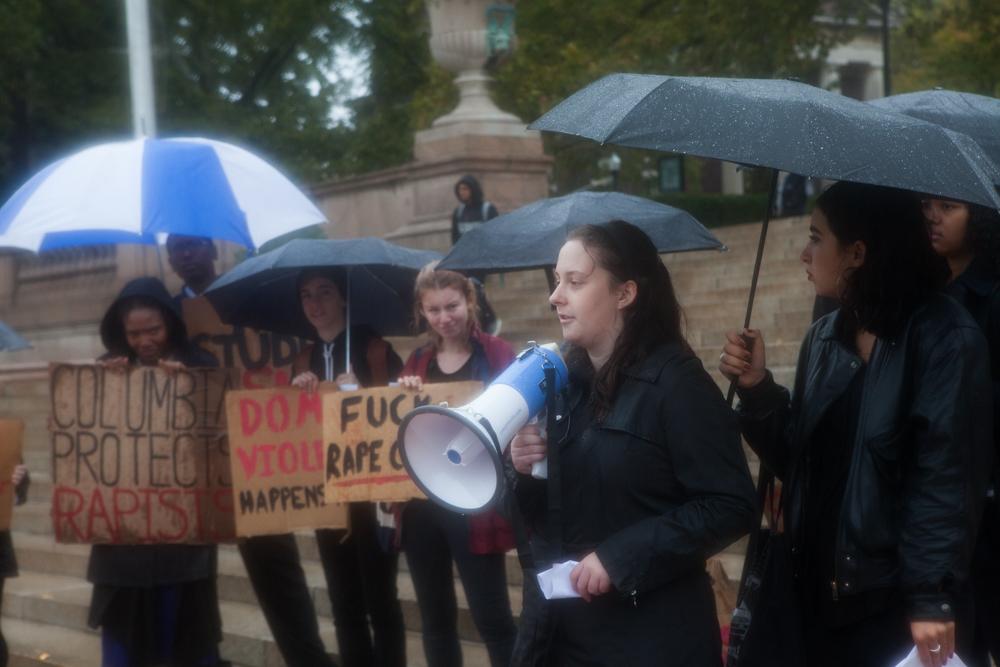 Obligatory activist megaphone photo
