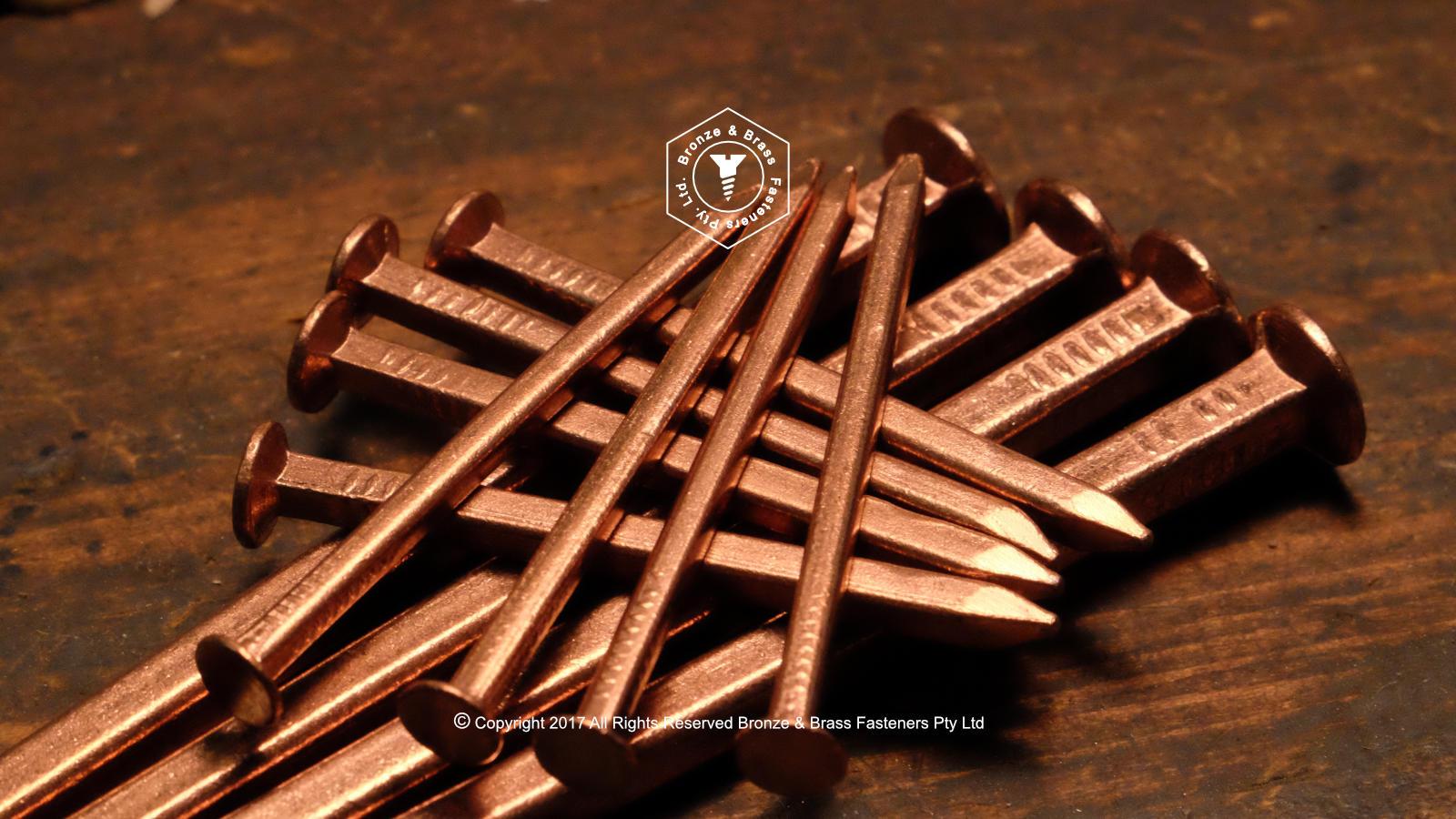Copper Boat Nails