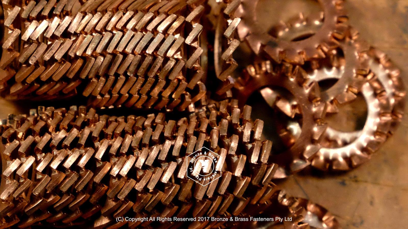Phosphor Bronze Toothed Washer